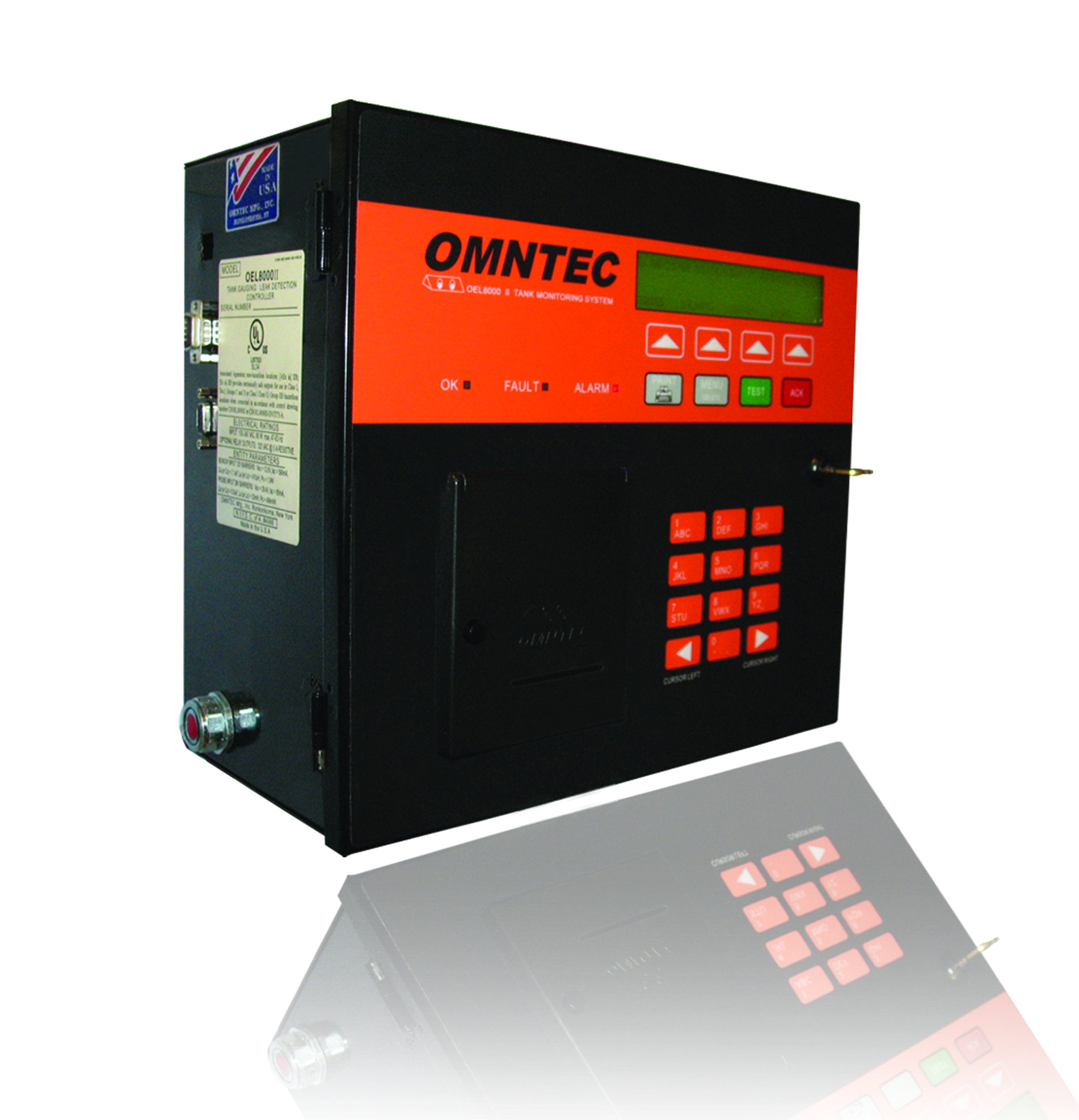 Oel8000ii W Omntec Tank Monitoring And Leak Detection